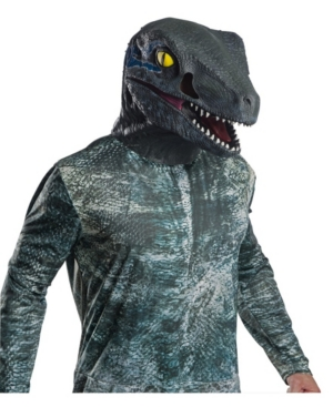 Buy Seasons Adult Jurassic World Deluxe Velociraptor Overhead Mask