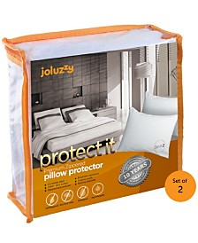 Zippered Pillow Protector Bed Bug Proof, Waterproof, Cotton Surface