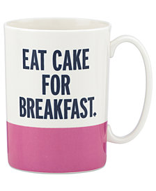 kate spade new york Say the Word Mugs Collection