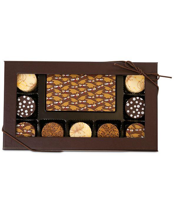 Chocolate Works 10-Pc. Graduation Gourmet Chocolate Truffles