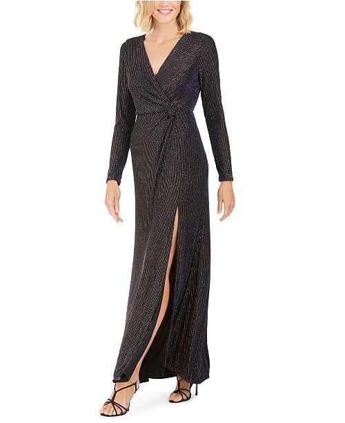 Nightway Knot-Waist Gown