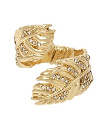 BCBGeneration Feather Wrap Ring