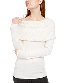 BCX Juniors' Off-The-Shoulder Sweater