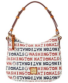 Dooney & Bourke Washington Nationals Small Kiley Hobo Bag