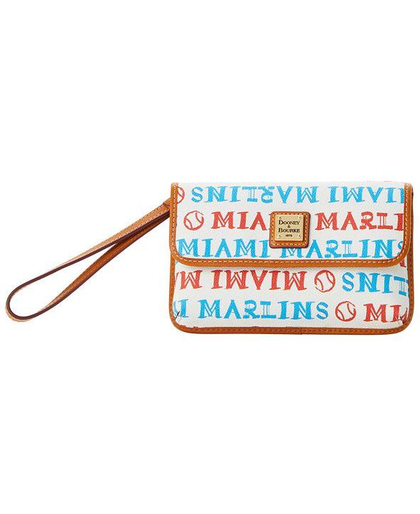 Dooney & Bourke Miami Marlins Milly Wristlet