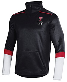 Men's Texas Tech Red Raiders Team Issue Quarter-Zip Pullover