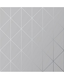 "Engblad Co 21"" x 396"" Diamonds Geometric Wallpaper"