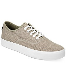 Nautica Men's Everyday Casual Canvas Lace-Up Sneakers
