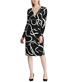 Lauren Ralph Lauren Petite Equestrian Jersey Dress
