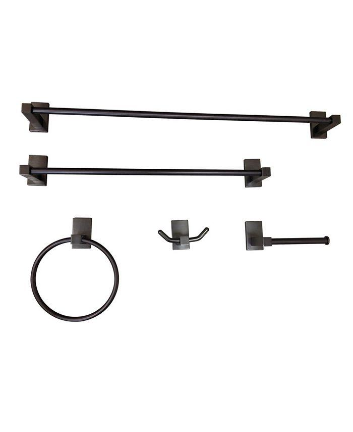 Kingston Brass - Continental 5-Pc. Bathroom Accessory Set