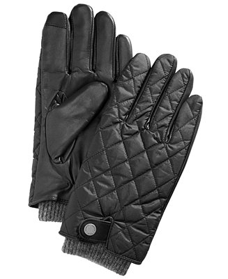 Polo Ralph Lauren Quilted Field Gloves to stay stylish and cozy
