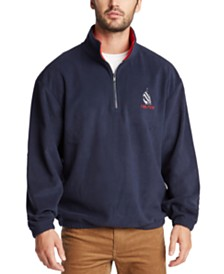 Nautica Men's Stand-Collar Reissue Logo Graphic Sweatshirt