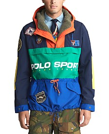 Polo Ralph Lauren Men's Polo Sport Down-Filled Anorak Jacket