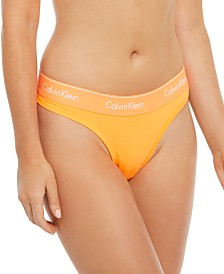 Calvin Klein Modern Cotton Neon Thong QF1672, First At Macy's