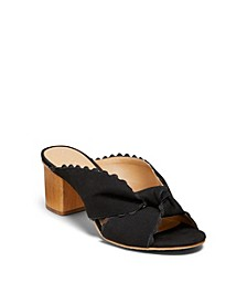 Holly Suede Mules