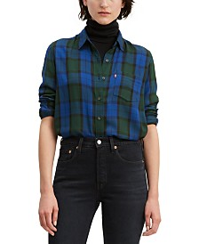 Levi's® Ultimate Boyfriend Plaid Shirt