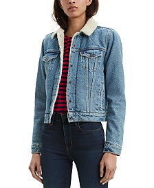 Levi's® Original Sherpa Trim Trucker Jacket