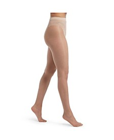 Women's Graduated Compression with French Lace Panty Sheers