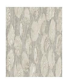 "21"" x 396"" MonolithAbstract Wood Wallpaper"