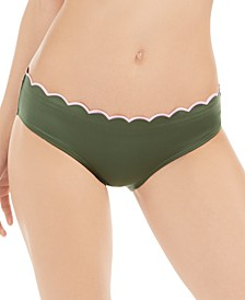 Scallop Wave Hipster Bikini Bottoms