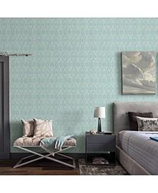 "21"" x 396"" Lyla Trellis Wallpaper"