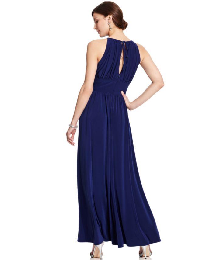 R & M Richards R&M Richards Petite Beaded Gown & Reviews - Dresses - Women - Macy's