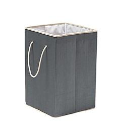 Resin Clothes Hamper, Gray