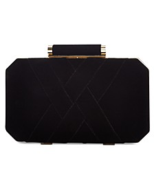INC Lindsay Velvet Clutch, Created For Macy's