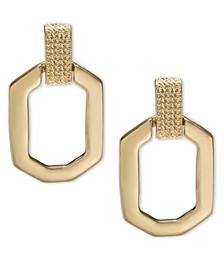 Chain & Link Stud Earrings, Created For Macy's