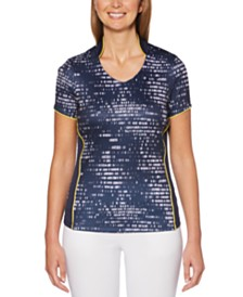 PGA TOUR Printed Golf Top