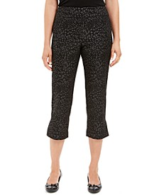 Printed Tummy-Control Capris, Created For Macy's