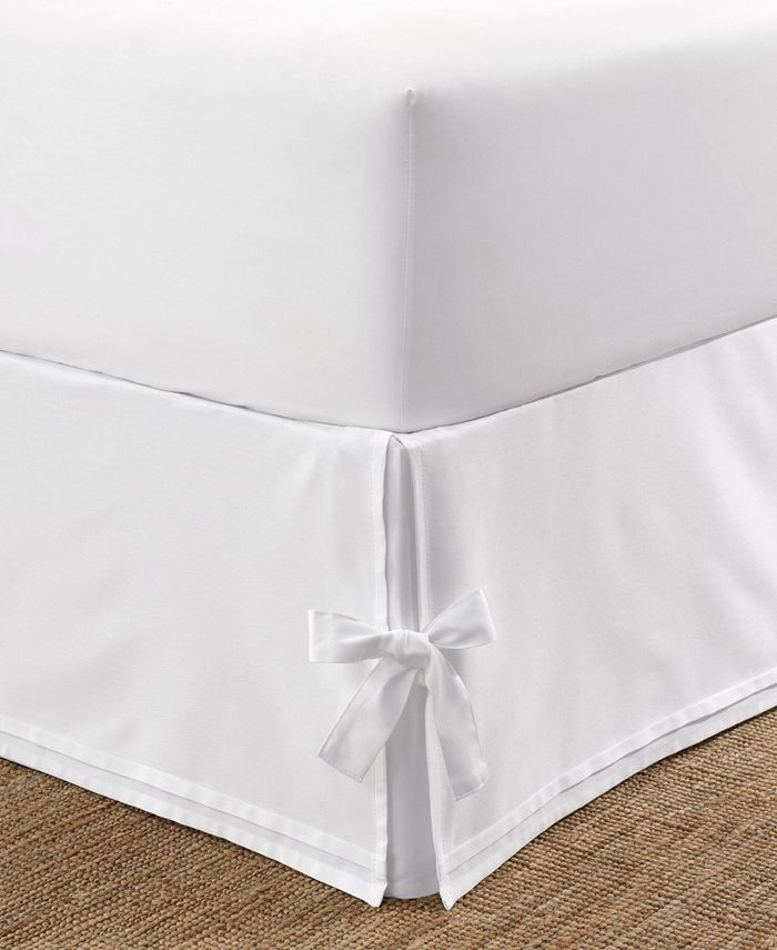 Laura Ashley - Tailored King Bedskirt with Corner Ties