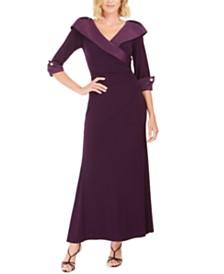 Jessica Howard Portrait-Collar Gown