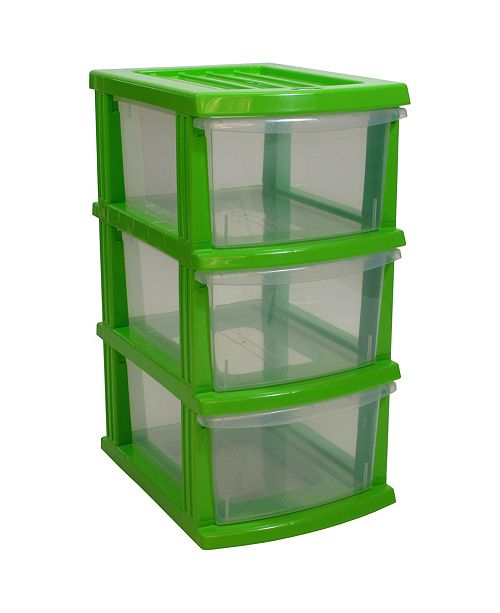 TAURUS A3 S Series 3 Clear Drawer Storage Organizer KD
