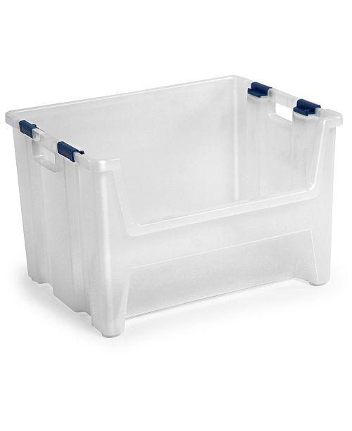 TAURUS 13 Gallon Pack 'N Stack Organizer Bin