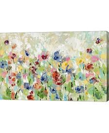 "Metaverse Springtime Meadow Flowers by Silvia Vassileva Canvas Art, 30"" x 20"""