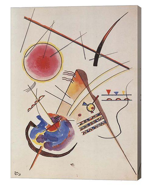 "Metaverse Aquarelle Gastebuch, 1925 by Wassily Kandinsky Canvas Art, 26"" x 36"""