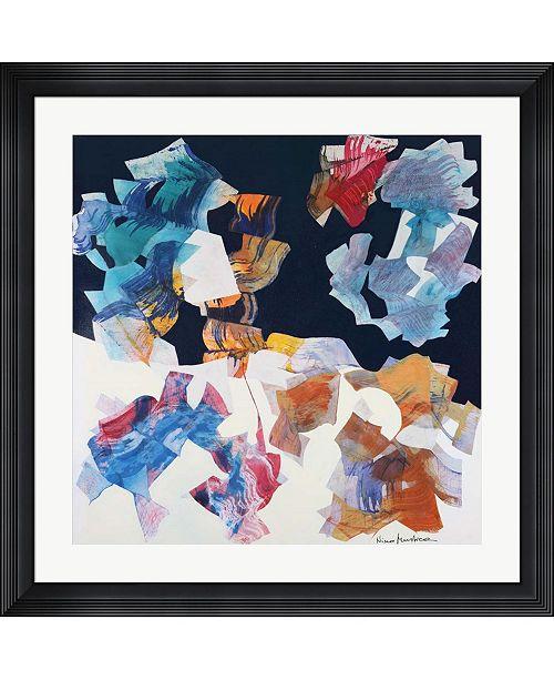 "Metaverse Mercoledi 21 Gennaio 2004 by Nino Mustica Framed Art, 32"" x 32"""