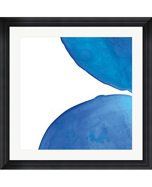 """Metaverse Pools of Turquoise III by Piper Rhue Framed Art, 32"""" x 32"""""""