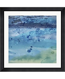 """Into The Deep II by Posters International Studio Framed Art, 32"""" x 32"""""""