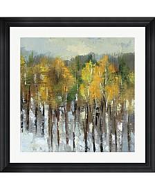 "January Landscape by Silvia Vassileva Framed Art, 32"" x 32"""