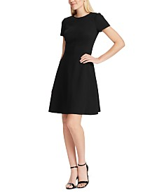 Lauren Ralph Lauren Ponte Fit-and-Flare Dress