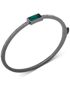 Dkny Crystal & Stone Bangle Bracelet