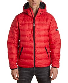 Member's Only Men's Light Weight Puffer Jacket