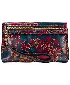 Patricia Nash Fall Tapestry Sibilla Wristlet