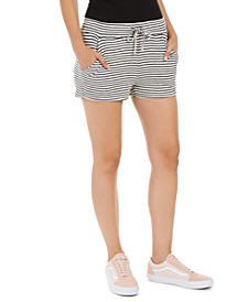 Juniors' Forbidden Summer Striped Shorts