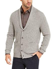 Tasso Elba Men's Cashmere Button Cardigan, Created for Macy's