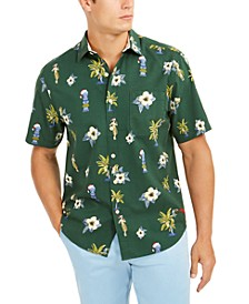 Men's Cheeky Tiki Holiday Graphic Shirt