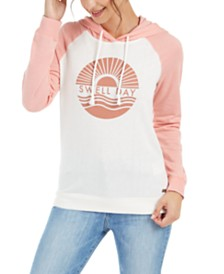 Roxy Juniors' Swell Day Graphic-Print Hoodie