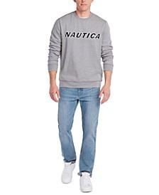 Men's Fleece Logo Graphic Sweatshirt